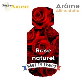 Rose naturel - Arôme alimentaire
