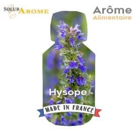 Hysope naturel - Arôme alimentaire