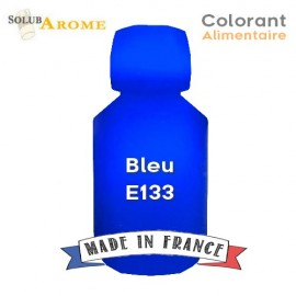 Colorant alimentaire - BLEU E133