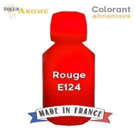 Colorant alimentaire - ROUGE E124