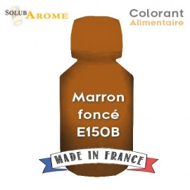 Colorant alimentaire - MARRON FONCE E150B