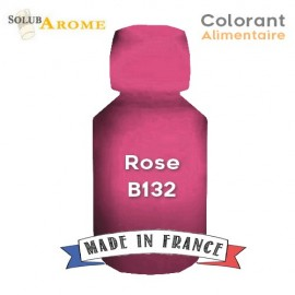 Colorant alimentaire - ROSE B132