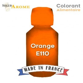Colorant alimentaire - ORANGE E110