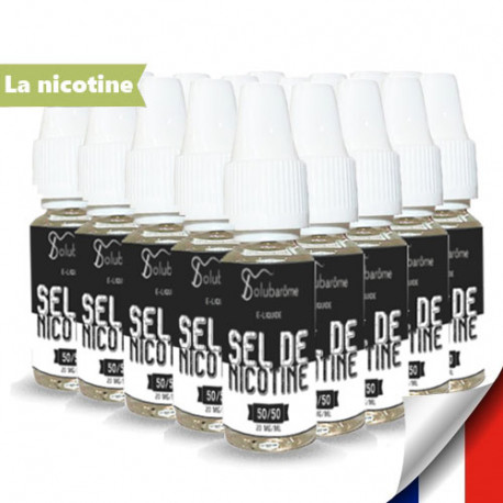 PACK 25 BOOSTERS SELS DE NICOTINE